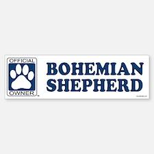 BOHEMIAN SHEPHERD Bumper Bumper Bumper Sticker