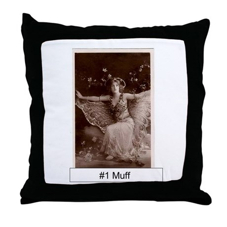 #1 Muff Throw Me On My Back Pillow