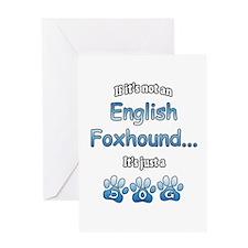 English Fox Not Greeting Card