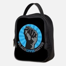 Black Lives Matter Fist Neoprene Lunch Bag