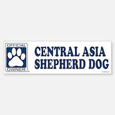 CENTRAL ASIA SHEPHERD DOG Bumper Bumper Bumper Sticker