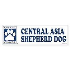 CENTRAL ASIA SHEPHERD DOG Bumper Bumper Sticker