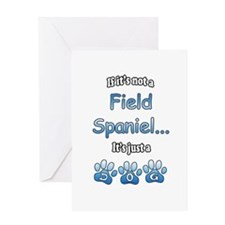 Field Spaniel Not Greeting Card