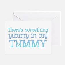 Yummy Tummy Greeting Card