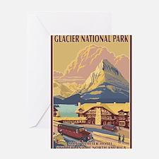 Glacier National Park, MT - Many Glacier Hotel Gre