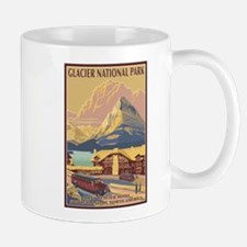 Glacier National Park, MT - Many Glacier Hotel Mug