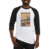 Glacier national park Baseball Tees