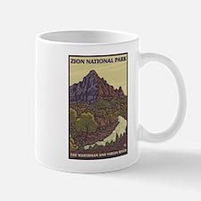 Zion National Park, Utah - The Watchman Mugs