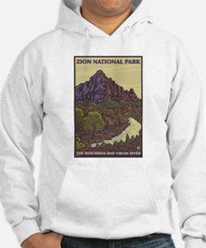 Zion National Park, Utah - The Watchman Hoodie