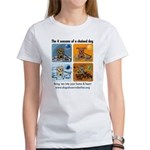 4 Seasons of Chained Dog Women's T-Shirt