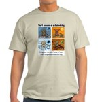 4 Seasons of Chained Dog Light T-Shirt
