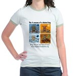 4 Seasons of Chained Dog Jr. Ringer T-Shirt