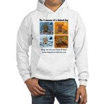 4 Seasons of Chained Dog Hooded Sweatshirt