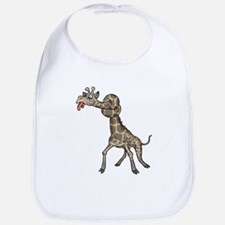 Funny Giraffe Bib