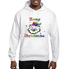 Merry Christmas GLBT Santa Hoodie
