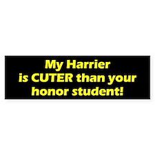 Cuter Harrier Bumper Bumper Sticker