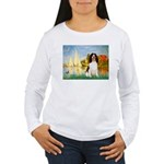 Sailboats / Eng Spring Women's Long Sleeve T-Shirt
