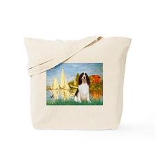 Sailboats / Eng Spring Tote Bag