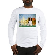 Sailboats / Eng Spring Long Sleeve T-Shirt