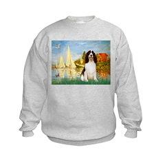 Sailboats / Eng Spring Sweatshirt