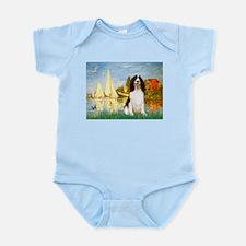 Sailboats / Eng Spring Infant Bodysuit