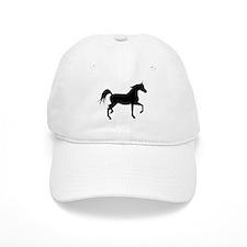 Arabian Horse Silhouette Baseball Cap