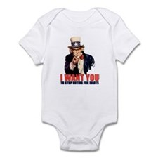 Stop Voting For Idiots Infant Bodysuit