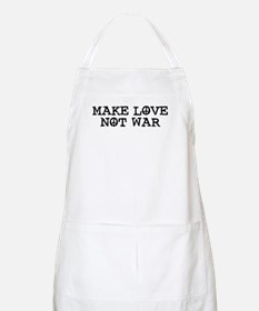 Make Love Not War BBQ Apron