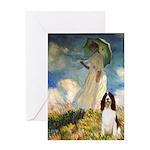 Umbrella / Eng Spring Greeting Card