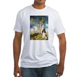 Umbrella / Eng Spring Fitted T-Shirt