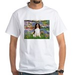 Lilies / Eng Spring White T-Shirt