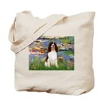 Lilies / Eng Spring Tote Bag