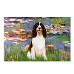 Lilies / Eng Spring Postcards (Package of 8)