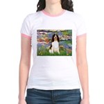Lilies / Eng Spring Jr. Ringer T-Shirt