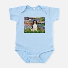 Lilies / Eng Spring Infant Bodysuit
