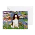 Lilies / Eng Spring Greeting Cards (Pk of 20)