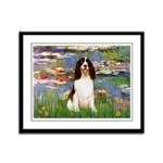 Lilies / Eng Spring Framed Panel Print