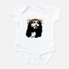 Jesus Crown Of Thorns (Silky) Infant Bodysuit