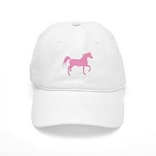 Pink Arabian Horse Baseball Cap