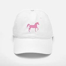 Pink Arabian Horse Cap