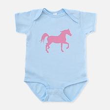 Pink Arabian Horse Infant Bodysuit