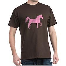 Pink Arabian Horse T-Shirt