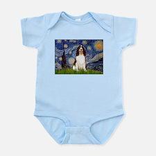Starry Night / Eng Spring Infant Bodysuit