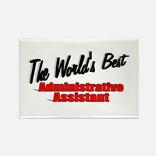 """""""The World's Best Administrative Assistant"""" Rectan"""