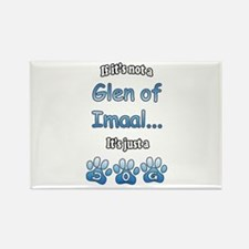 Imaal Not Rectangle Magnet (100 pack)