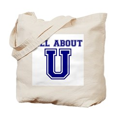 All About U Tote Bag