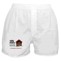 A Dog House is NOT A Home Boxer Shorts