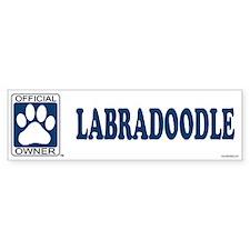 LABRADOODLE Bumper Bumper Sticker