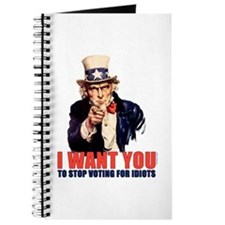 Stop Voting For Idiots Journal