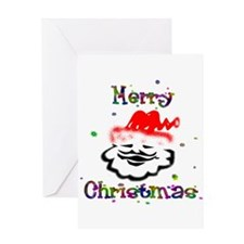 Merry Christmas Santa - Greeting Card